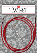 Cavi intercambiabili TWIST Red