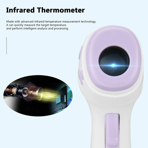 In Stock Touch Free IR Forehead Thermometer - For Adults and Kids