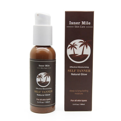 Cream Color Stay Bronze Self Sun Tan Tanning Enhance Day Tanning Cream Natural Bronzer Sunscreen Tanner Lotion Hot Sale