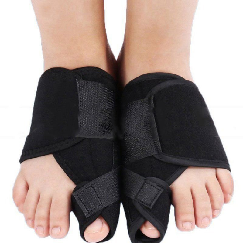 2 X Big Toe Bunion Splint Straightener Corrector Hallux Valgus Foot Pain Relief