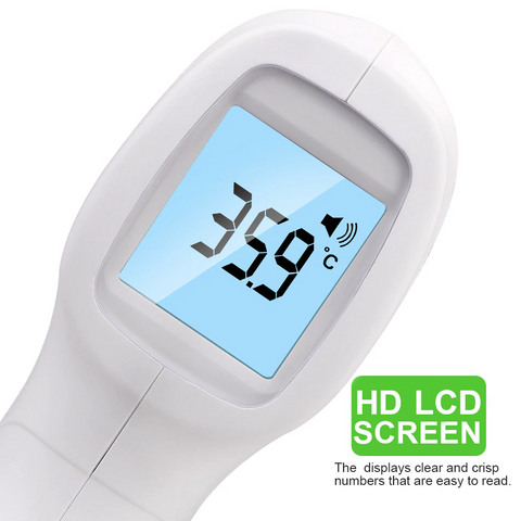 Advanced Forehead Digital Thermometer, Non-Contact Infrared, Instant Reading, Multi-Functional, for Body, Surface & Room Measurement, Babies & Home Helper