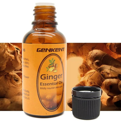 Lymphatic Drainage Ginger Massage Oil Is A Great Natural Solution For Lymphatic Drainage, Edema, Spider Veins And Varicose Veins