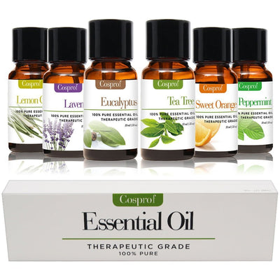 6*Essential Oils 100% Pure Natural Aromatherapy Essential Oil 10ml Fragrance Aroma