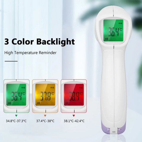 US Stock No Contact IR Digital Forehead Thermometer - For Adults and Kids