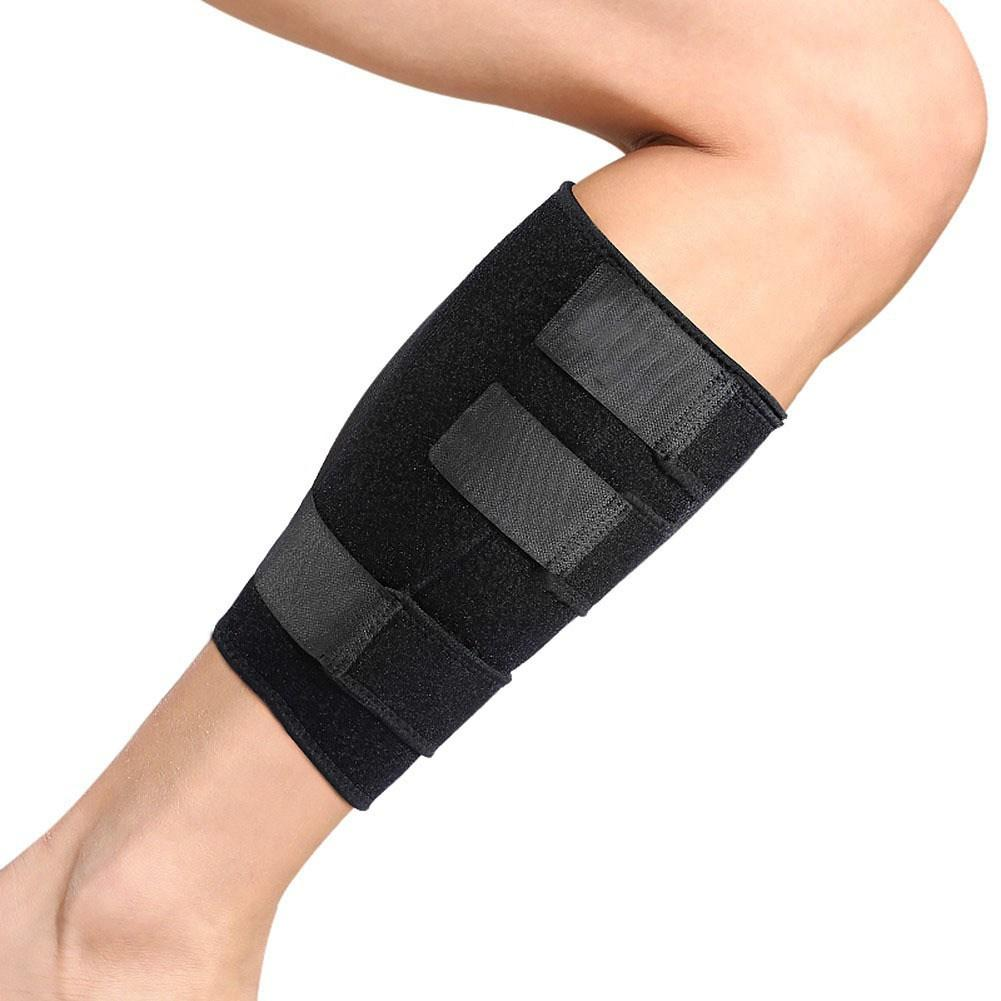 Adjustable Shin Support Wrap Brace Bandage & Splint Sleeve Injury Guard