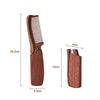 Multifunctional Beard Comb Hair Comb Hairbrush For Men & Women Wood Folding Anti-Static Moustache & Beard Comb Tools