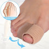 2Pcs Big Toe Separator Hallux Valgus Corrector Bone Thumb Straightener Bunion Stretchers Protector Foot Care Tools