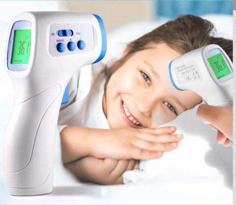 Fast Shipping - Non Contact Forehead Thermometer - For Adults and Kids - In Stock