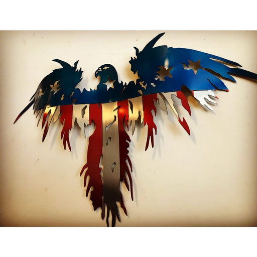 3 Dimensional Flying Freedom Eagle - 2 Footer - Wall Art