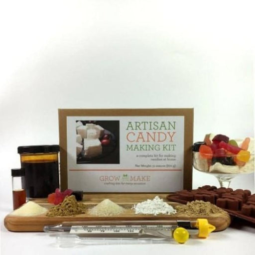Artisan Diy Candy Making Kit Make Marshmallows Old-Fashioned Licorice And Gummy Candies - Learn How To Make Home Made Candies - Product