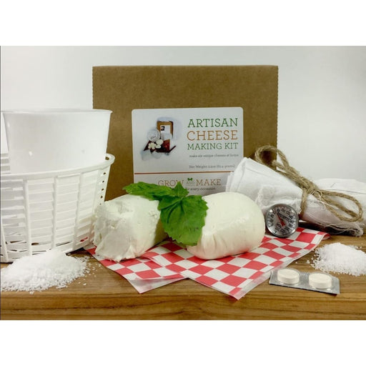 Artisan Diy Cheese Making Kit - Learn How To Make Home Made Cheeses - Product
