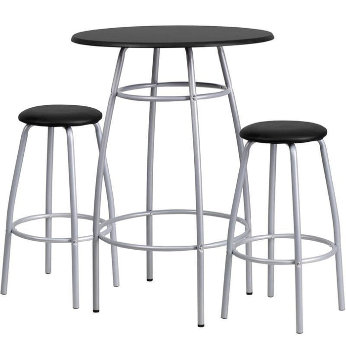 Bar Height Table And Stool Set - Residential Barstools