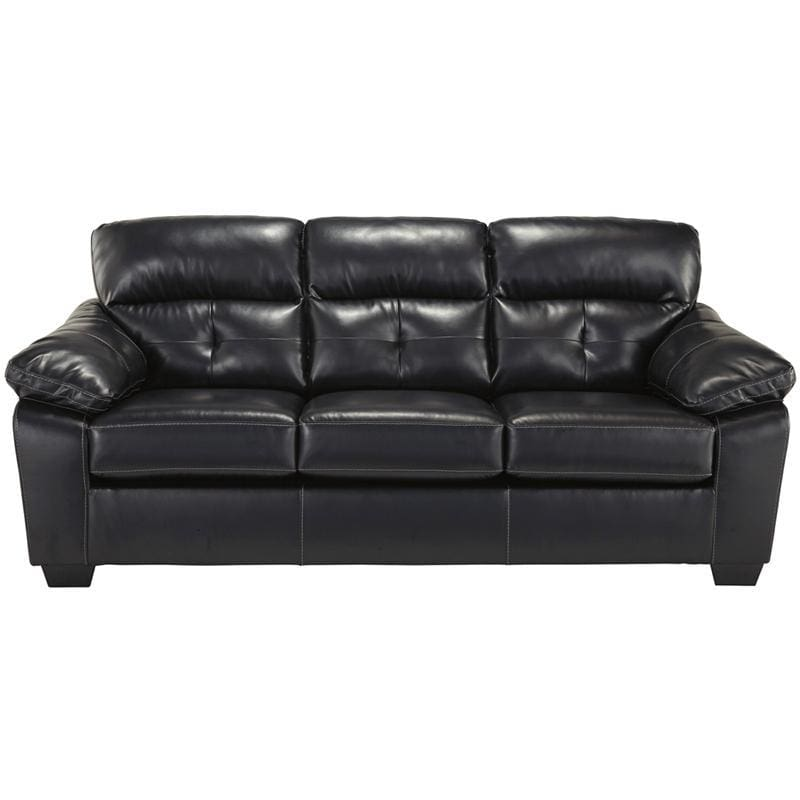 Benchcraft Bastrop Sofa In Midnight Durablend - Living Room Sofas