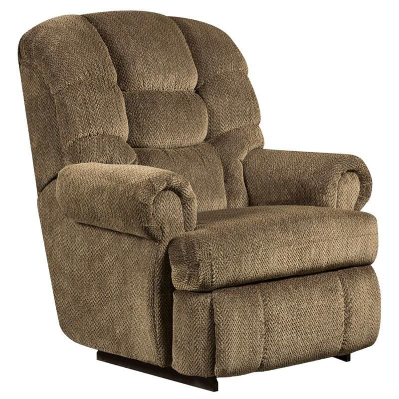 Big & Tall 350 Lb. Capacity Gazette Basil Microfiber Recliner - Recliners