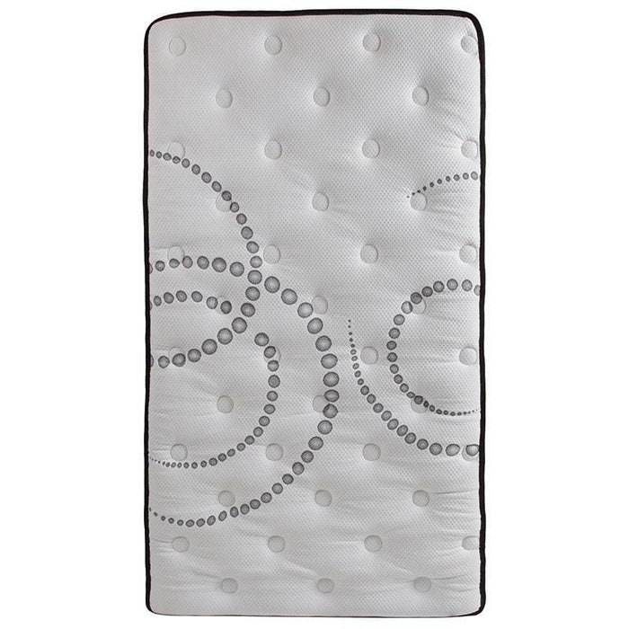 Capri Comfortable Sleep 12 Inch Foam And Pocket Spring Mattress Twin In A Box - Mattresses