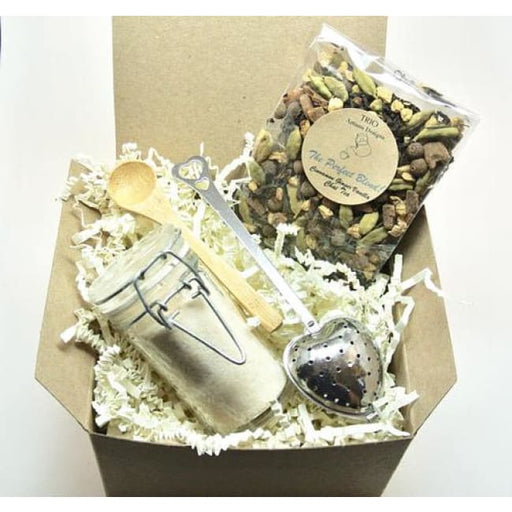 Chai Tea & Ginger Sugar Gift Set Tea Lover - Home & Garden