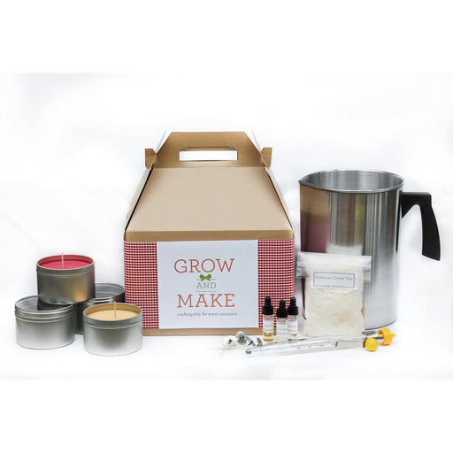 Complete Diy Holiday Candle Making Kit - Makes 68 Candles (Tins Tealights Votives) - Product