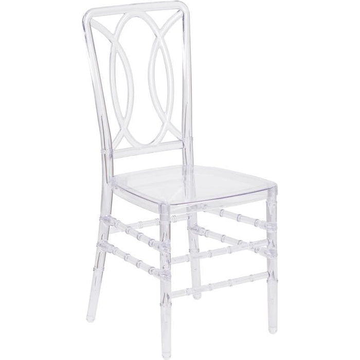 Flash Elegance Crystal Ice Stacking Chair - Chiavari Chairs
