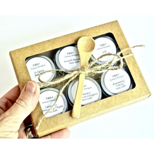 Gourmet Sea Salt Sampler Gift Set - Home & Garden