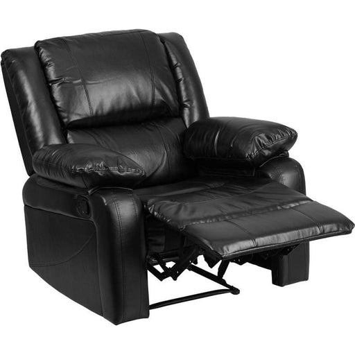 Harmony Series Black Leather Recliner - Recliners
