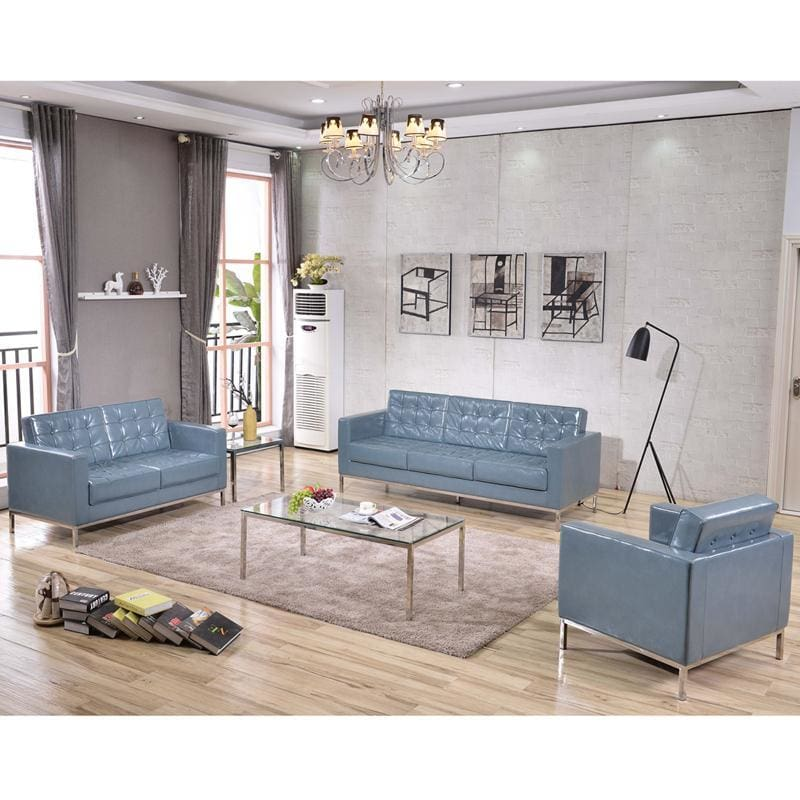 Hercules Lacey Series Reception Set In Gray - Reception Furniture Sets