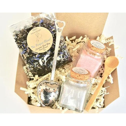 Lavender Earl Grey Tea & Sugar Gift Set Lavender - Home & Garden