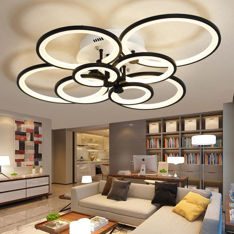 Neo Gleam Remote Control Modern Led Ceiling Lights