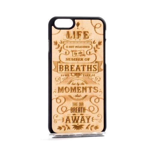 The Meaning Phone Case - Wood - Iphone 5/5S/se / Black