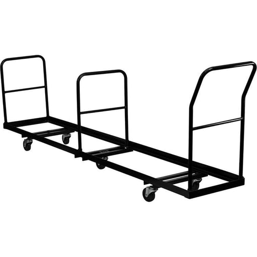 Vertical Storage Folding Chair Dolly - 50 Chair Capacity - Dollies