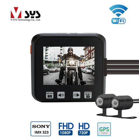 VSYS M6 (WIFI) Motorcycle Camera