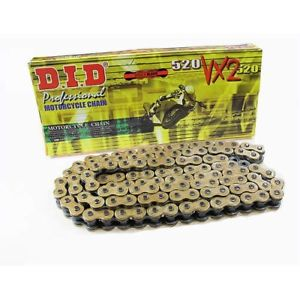 DID 520VX2 X-Ring Chain 120 Links