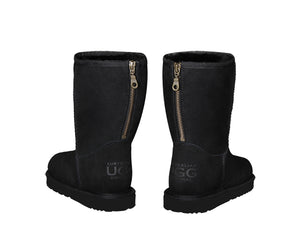 CLASSIC SHORT ZIPPER boots. Made in Australia. FREE Worldwide Shipping.