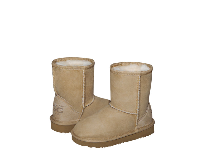 FREE; Load image into Gallery viewer, CLASSIC SHORT KIDS boots. Made in Australia. FREE