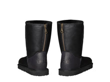 Load image into Gallery viewer, NAPPA SHORT ZIPPER boots. Made in Australia. FREE Worldwide Shipping.