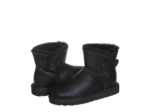 NAPPA BUTTON MINI boots. Made in Australia. FREE Worldwide Shipping.