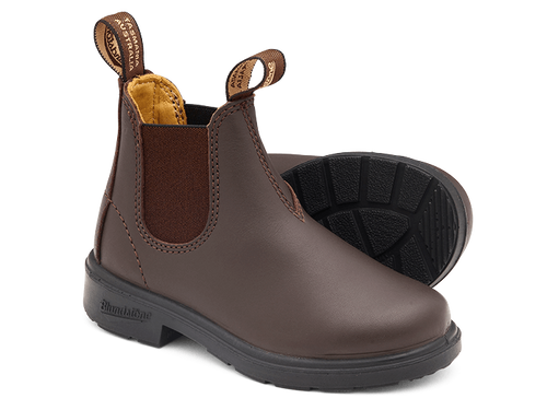 BLUNDSTONE 530 Kids Leather Boots Brown. FREE Worldwide Shipping.