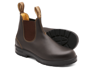 BLUNDSTONE 550 Leather Boots Brown. FREE Worldwide Shipping.
