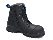 Load image into Gallery viewer, BLUNDSTONE 997 Leather Work Boots Black. FREE Worldwide Shipping.