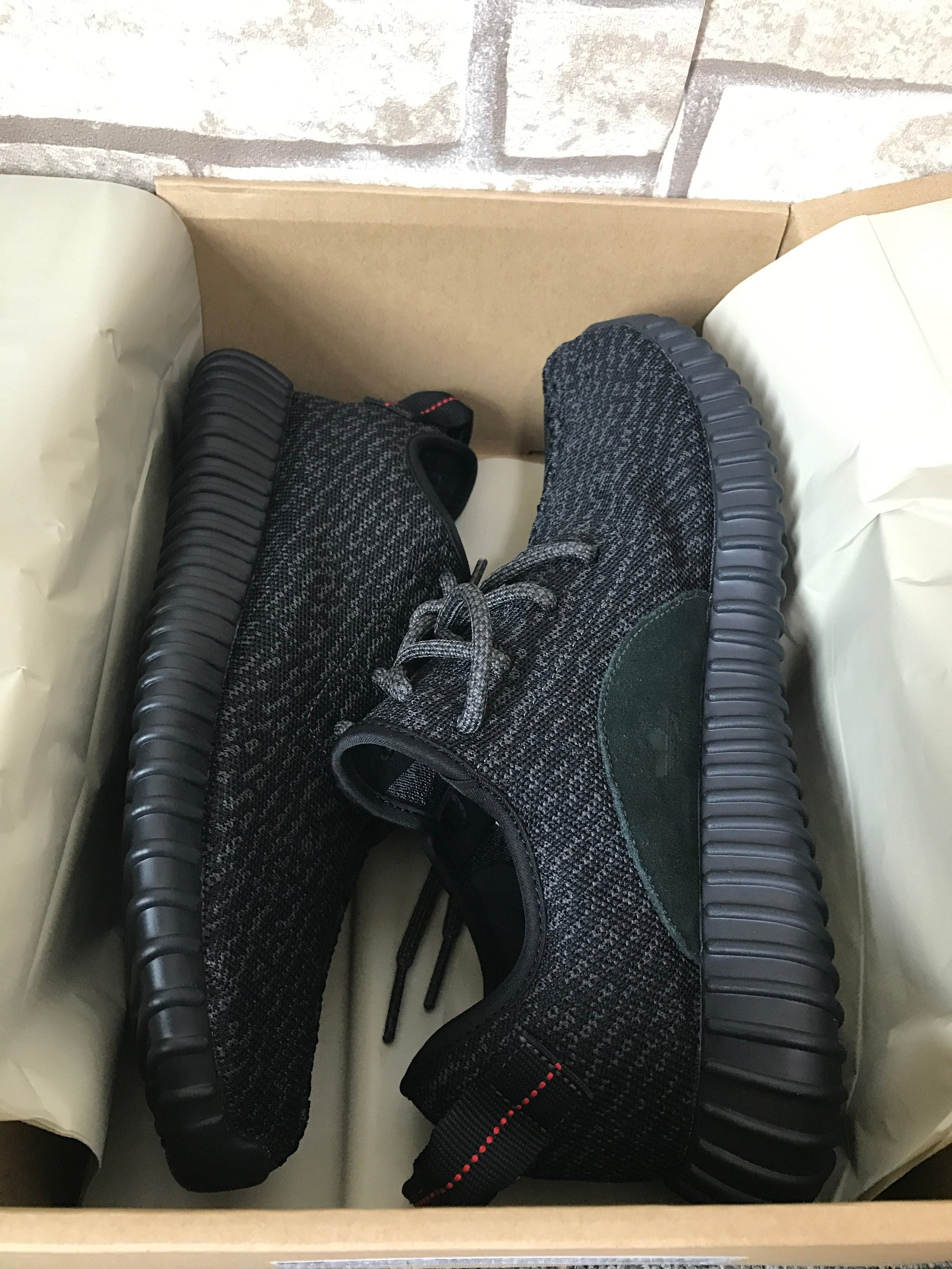 3daf128e8a0 Yeezy Boost 350 - Pirate Black - The-Hype-Snob