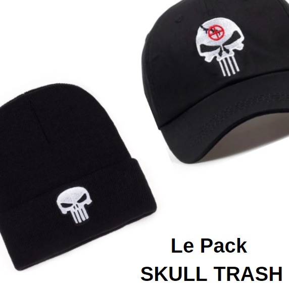 Le Pack SKULL TRASH