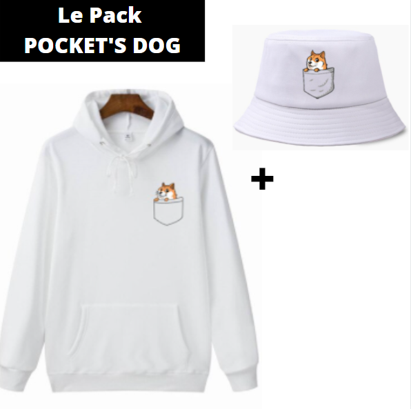 Le Pack POCKET'S DOG