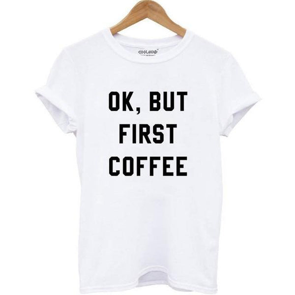 Le T-Shirt COFFEE FIRST