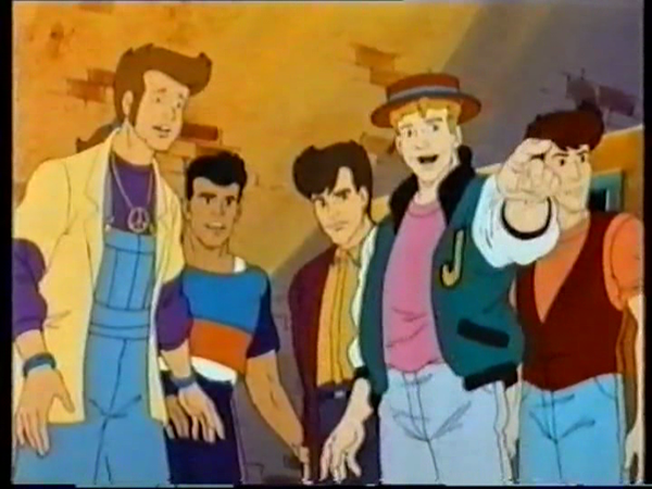 New Kids On The Block Animated Series DVD