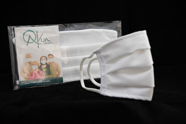 Aqkua Face Mask .  Family Kit                             -  Set of Four (4)  -