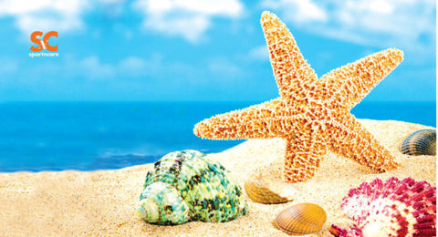 BEACH STAR FISH TOWEL
