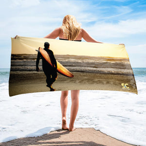 SURF TOWEL SUNSET