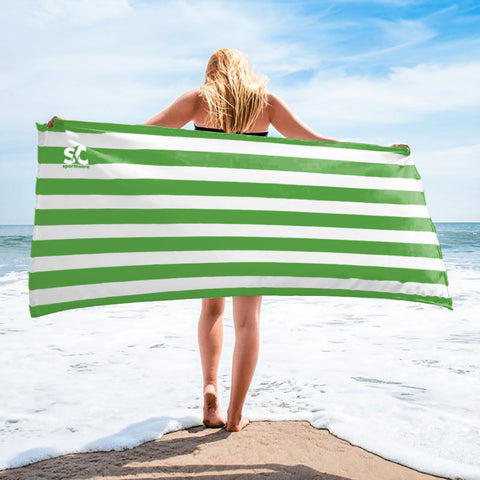 CABANA GREEN  TOWEL