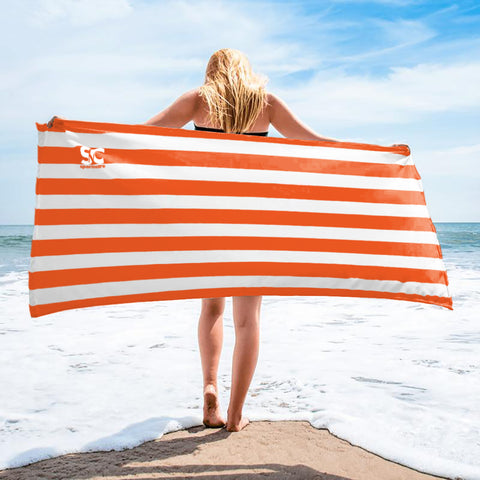 CABANA ORANGE TOWEL