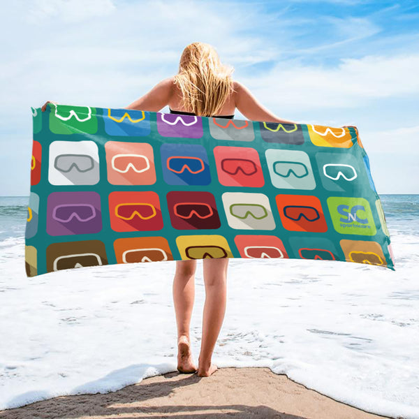 SCUBA DIVE MASK  TOWEL