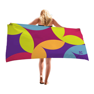 Beach Towel Summer 2021 Collection Wasabi Art B